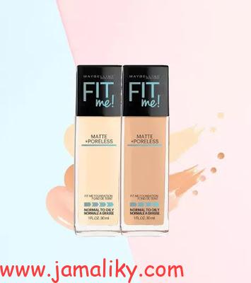 Maybelline Fit Me Matte And Poreless Foundation ريفيو